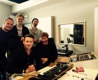 Tonstudio mit Band
